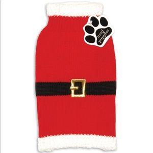 🌟🎅🏼NWOT🎅🏼🌟Mud Puppies Dog Santa Sweater 🎅🏼